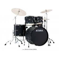 "Tama 20"" Bass Drum Kit Blacked Out Black IP50H6N"