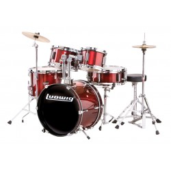 Ludwig JR. Junior Series Wine Red