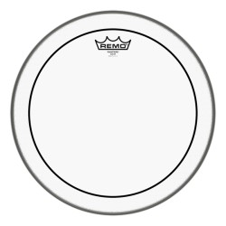 "Remo 18"" Pinstripe Clear Bass Drum"