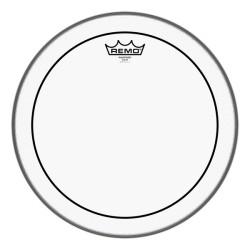 "Remo 24"" Pinstripe Clear Bass Drum"
