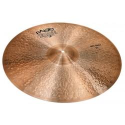 "Paiste 21"" 2002 Black Big Beat Cymbal"