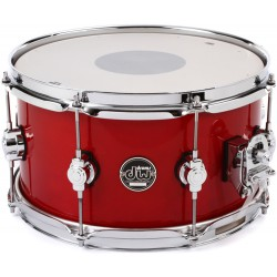 "DW 13x7"" Performance Maple Candy Apple Red"