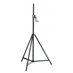 K&M 246/1 Starline Lighting/Speaker stand - black