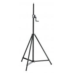 K&M 246/1 Starline Lighting/Speaker stand - black