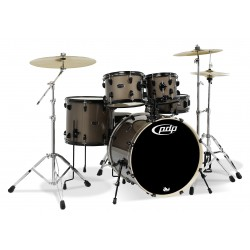 PDP by DW Mainstage Drum-Set Bronze Metallic Black HW