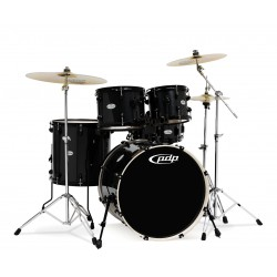 PDP by DW Mainstage Drum-Set Black Metallic Black HW