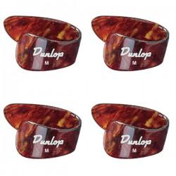Dunlop 9022P Shell Thumbpicks Medium Bag of 4