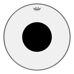Remo Controlled Sound Clear Black Dot Bassdrum