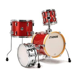 Sonor SSE 13 Martini 4pc SPC1 Red Galaxy Sparkle