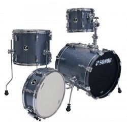 Sonor SSE 10 Safari 4-pc C1 Black Galaxy Sparkle