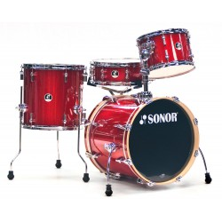 Sonor SSE 12 Safari 4pc SP C1 Red Galaxy Sparkle