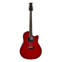 Ovation Balladeer Cherry Cherry Burst
