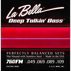 La Bella 760FM Flatwound