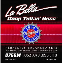La Bella 0760M Flatwound