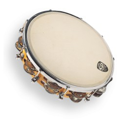 "LP CP 10"" Tambourine Tunable Wood"