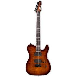 ESP LTD TE-401FM Dark Brown Sunburst
