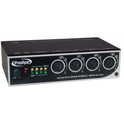 Prodipe Interface MIDI USB 4in/4out
