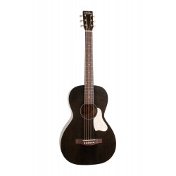 Art & Lutherie Parlor Roadhouse Faded Black with E/A