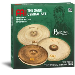 Meinl Byzance Vintage Complete Cymbal Set (Benny Greb Sign)