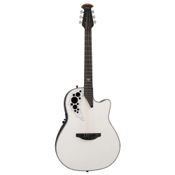 Ovation Signature Melissa Etheridge Pearl White
