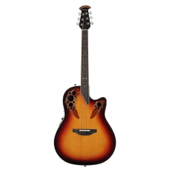 Ovation Elite Deep Contour Cutaway New England Burst