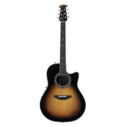 Ovation Custom Legend Deep Contour Cutaway Sunburst