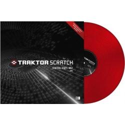Native Instruments Traktor Scratch Control Vinyl Red MKII