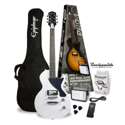 Epiphone Les Paul Junior Pro-1 Pack Alpine White