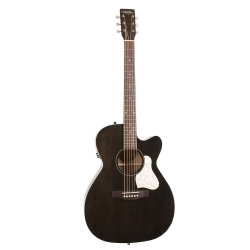 Art & Lutherie Concert All Legacy Fade Black CW QIT
