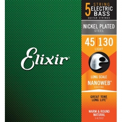 Elixir Nanoweb 5-Strings Light