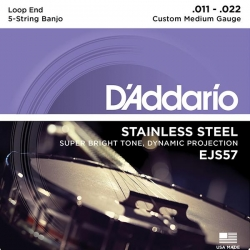 D'Addario EJS57 Banjo 5 Strings