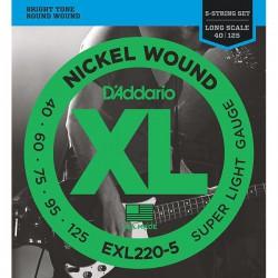 D'Addario EXL 220-5