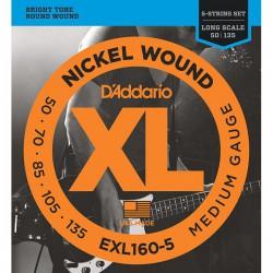 D'Addario EXL 160-5