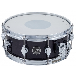 """DW 14""""x5.5"""" Performance Maple Ebony Stain Snare"""