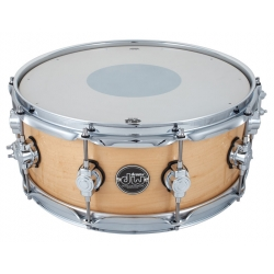 """DW 14""""x5.5"""" Performance Maple Natural Snare"""