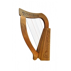 Muzikkon O'Carolan Harp 12 Strings Walnut