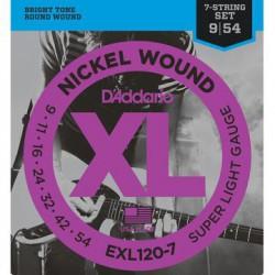 D'Addario EXL 120-7