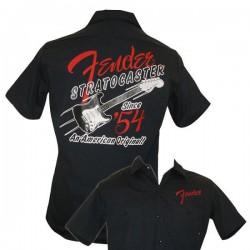 Fender 1954  Start Work Shirt, Navy, Large