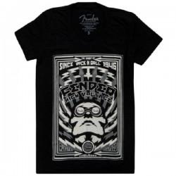 Fender High Voltage Ladies T-Shirt, Black, Medium
