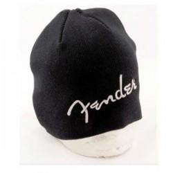 Bonnet avec logo fender, noir