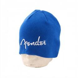 Bonnet avec logo Fender bleu