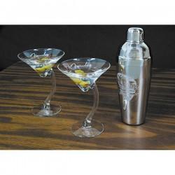 Fender, Glassware, Electro lounge Custum Martini Three Set