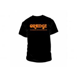 """Orange Classic Black Orange T-Shirt """"L"""""""