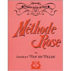 Méthode Rose Première année de piano