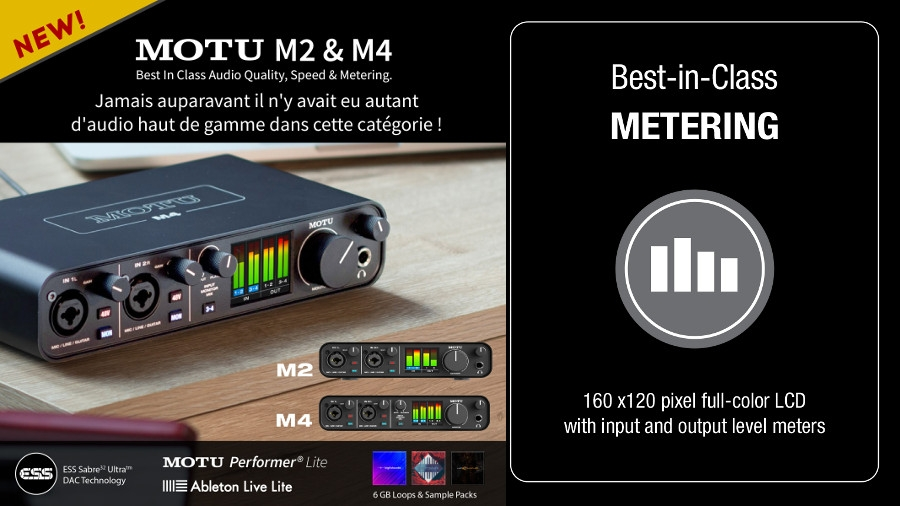 Motu interface audio